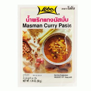 Pasta Massaman (Matsaman) Curry, 50g