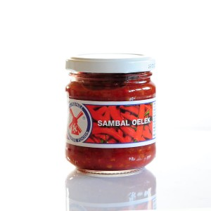 Pasta Chili Sambal Oelek, 200g, Wind Mill