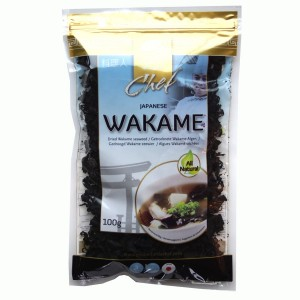 Wodorosty Wakame, Golden Turtle, 100g