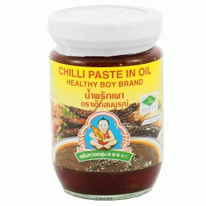 Pasta Chili w Oleju sojowym, do Tom Yum Kunga, 220g, Healthy Boy